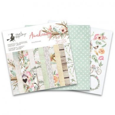 Scrapbooking papper block 6x6 inch