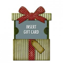 Sizzix Thinlits Gift Card Package Tim Holtz
