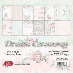 Craft&You Dream Ceremony pappersblock 6x6
