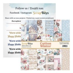 ScrapBoys Cotton Winter pappersblock