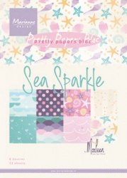Marianne Design Pappersblock Sea sparkle