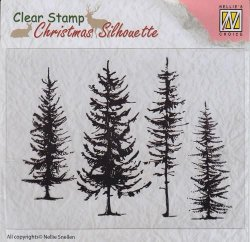 Nellie Snellen Clear stamppine trees