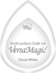 Versa Magic Inkpad Dew Drop Cloud White