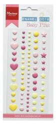 Marianne Design Decoration Enamel dots Baby pink