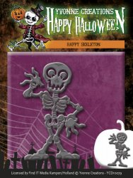 Yvonne Creations Happy Skeleton