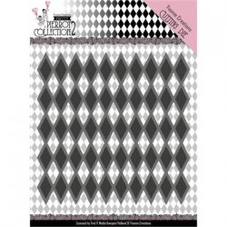 Yvonne Creations Dies Pretty Pierrot 2 Diamond Pattern