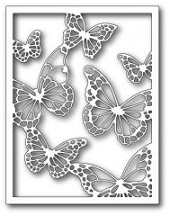 Floating Butterfly frame