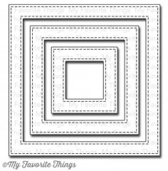 Die-namics Stitched Square frames