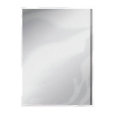 Tonic Studios mirror card - satin frosted silver