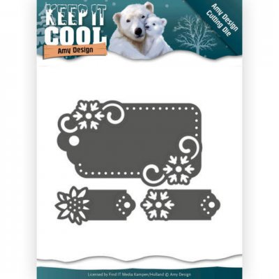 Amy Design Dies Keep it Cool Tags