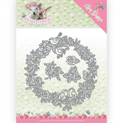 Amy Design Spring is Here Circle of Roses