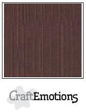 CraftEmotions Linen Cardboard Coffee 10 st