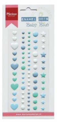 Marianne Design Decoration Enamel dots Baby blue
