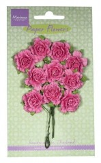 Marianne Design Decoration Carnations bright pink