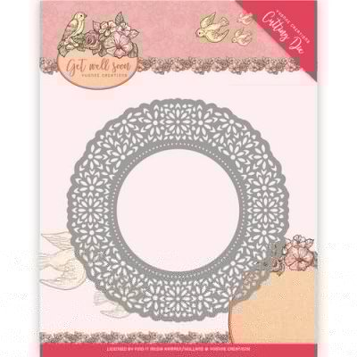 Yvonne Creations Flower Doily